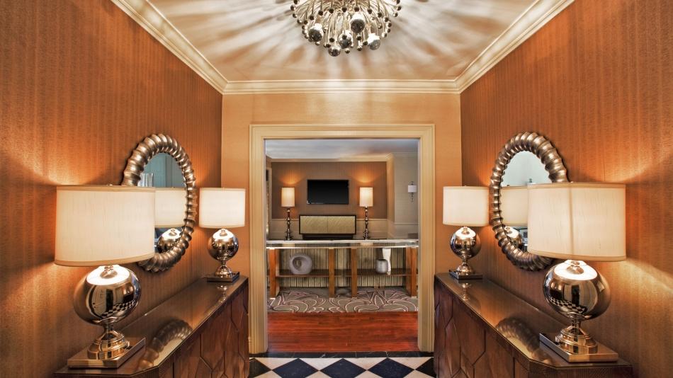 Presidential Suite Enterance