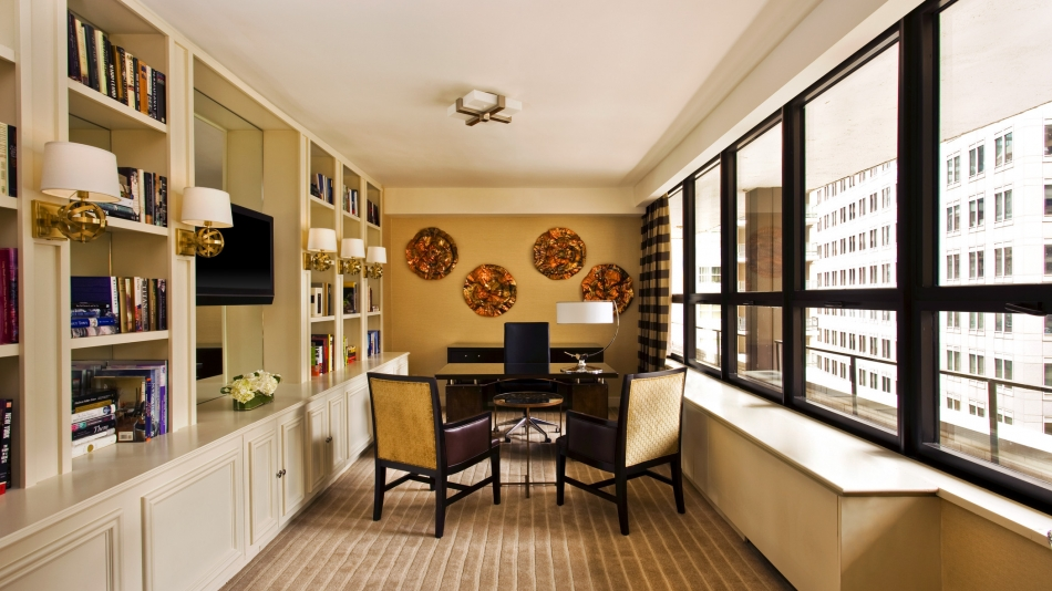 Presidential Suite Library