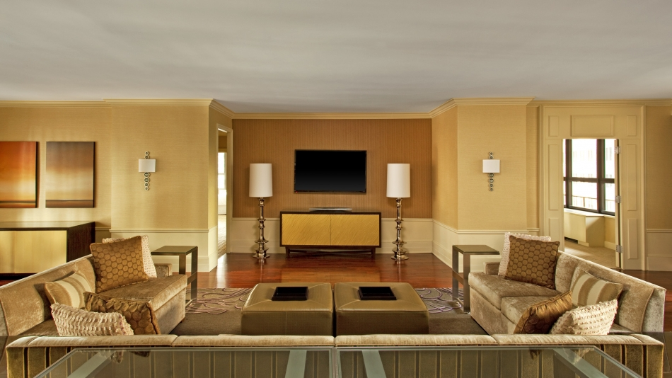 Presidential Suite Sitting Area
