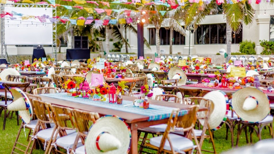 Outdoor Themed Event