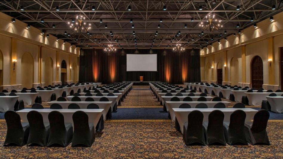 Hacienda Ballroom - Conference Setup