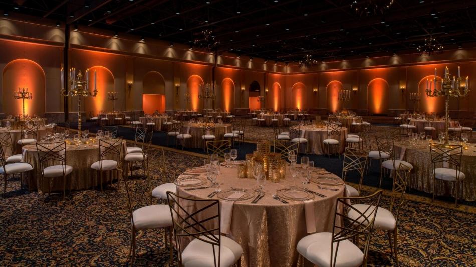 Hacienda Ballroom - Banquet Setup